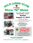 5th Annual Show 'N' Shine - August 11th