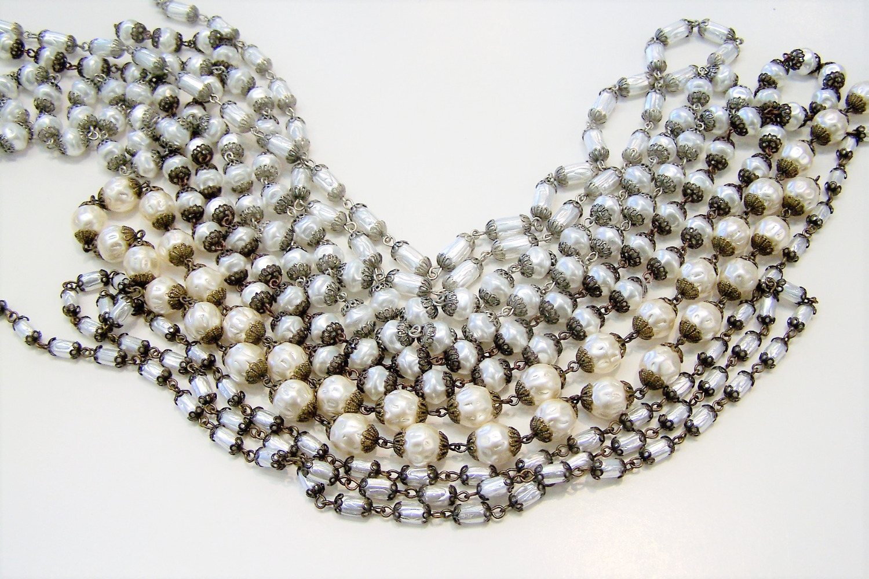 Glass Pearl Chain