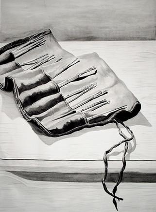 Untitled (Paint Brushes)