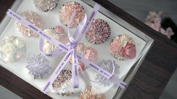 Floral Cupcakes 12pcs
