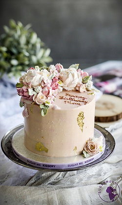 Floral Couture Cake