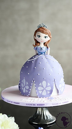 Sculpted Doll cake