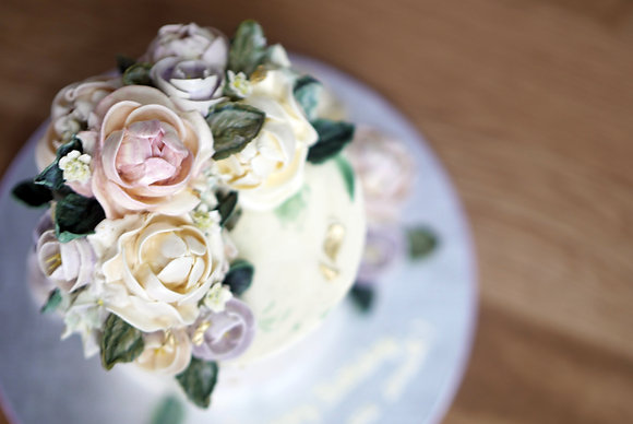 Floral Couture Cake (Mini)