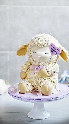 Baa Baa Cake Sheep