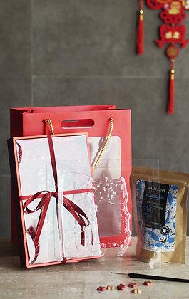 Lunar New Year Chocolate Fai Chun Set 1 (FULL SET Chocolate and Mold)