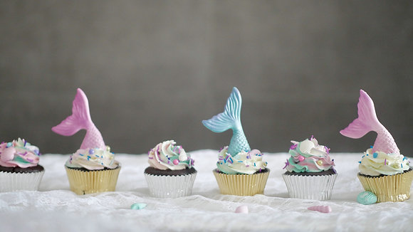 Mermaid Cupcakes 12pcs