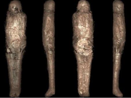 Arkeologlar Hiç Karşılaşmadıkları Yeni Bir Mumya Türünü İnceliyorlar