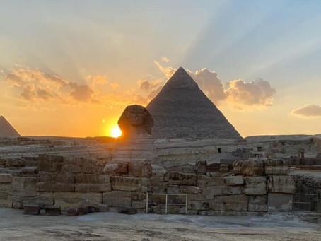 Günün Fotoğrafı / Gün Batımında Sfenks