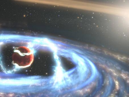 Hubble, Dev Bir Gezegenin Nasıl Büyüdüğünü İzliyor