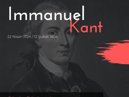 Günün Düşüneni / Immanuel Kant