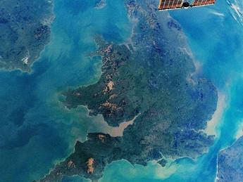 Günün Fotoğrafı / ISS / Birleşik Krallık