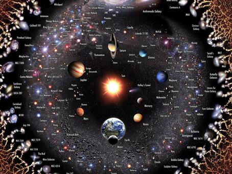 Evrenin Yaşam Döngüsünde 5 Dönem Vardır. Şu Anda İkinci Çağdayız