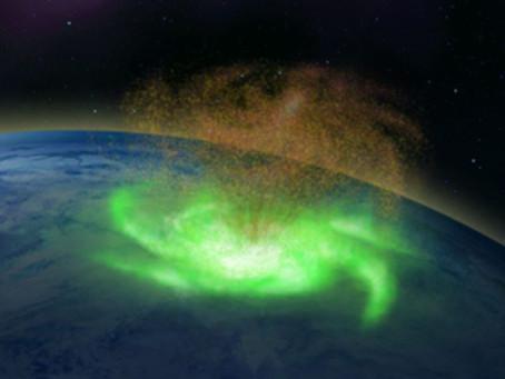 Dünyanın Üst Atmosferinde Görülen İlk Uzay Kasırgası