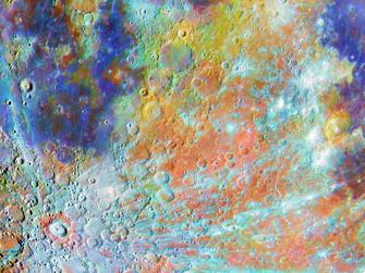 Günün Fotoğrafı / Tycho Krater Bölgesi