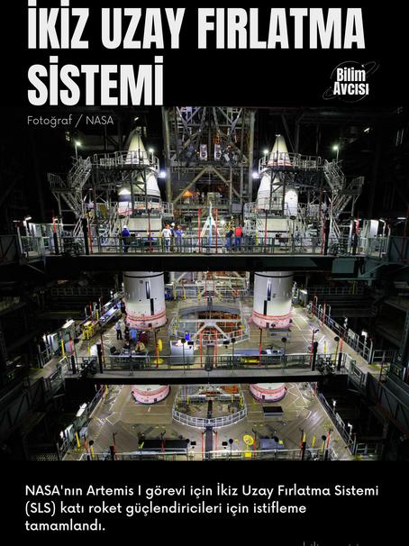 Günün Fotoğrafı / İkiz Uzay Fırlatma Sistemi