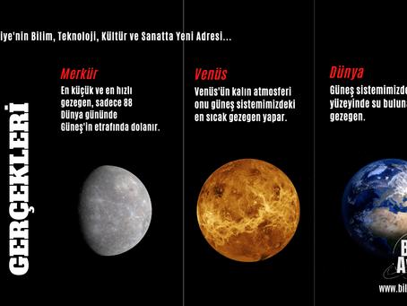 İlginç Gezegen Gerçekleri