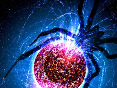 """Gökbilimciler Diğer Yıldızları Parçalayan """"Örümcek Yıldızları"""" Keşfediyor"""