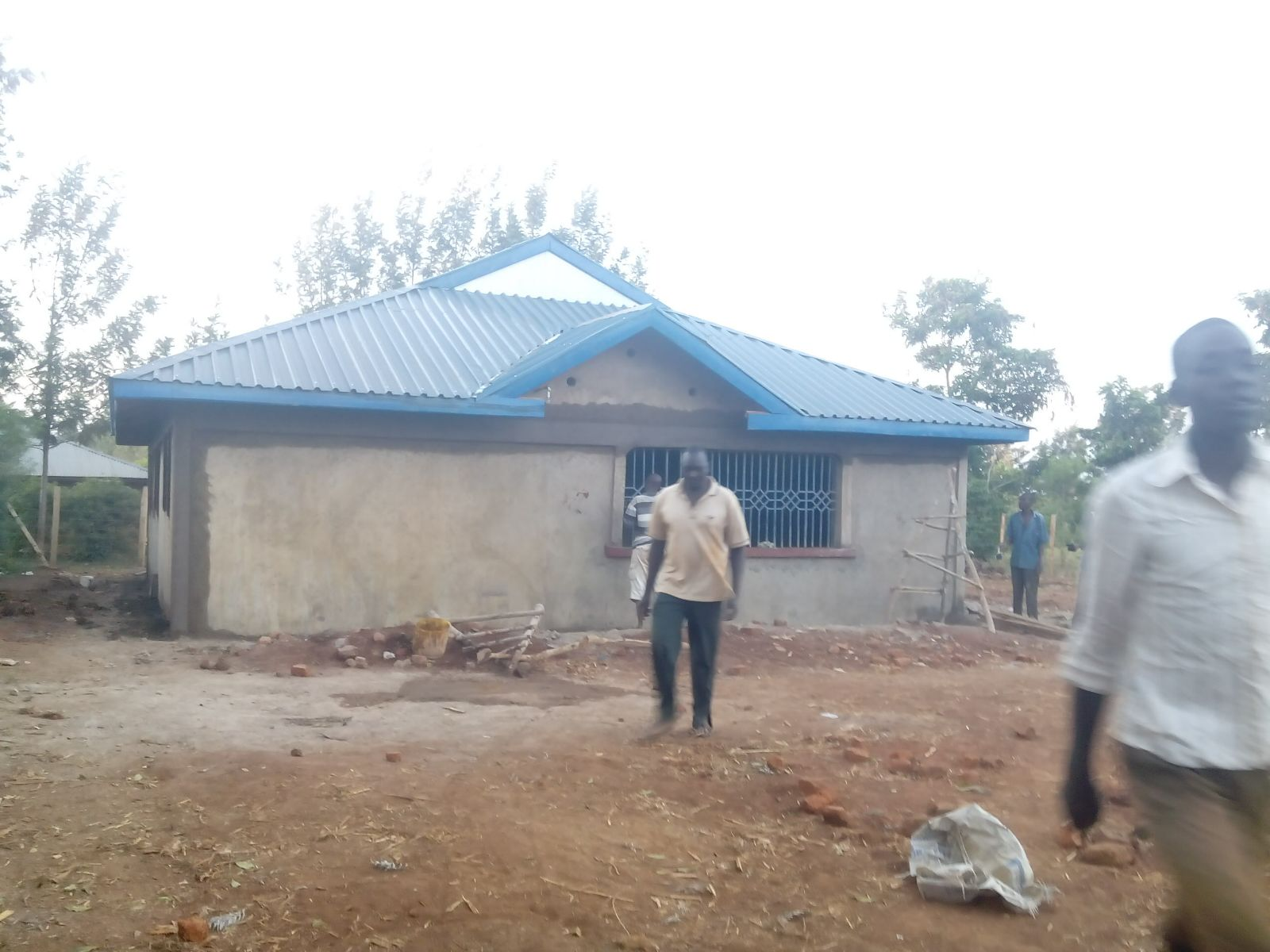 Exterior plastering