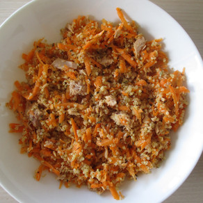 Salade de thon, quinoa et carottes