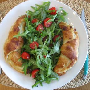 Chaussons tomates-mozzarella
