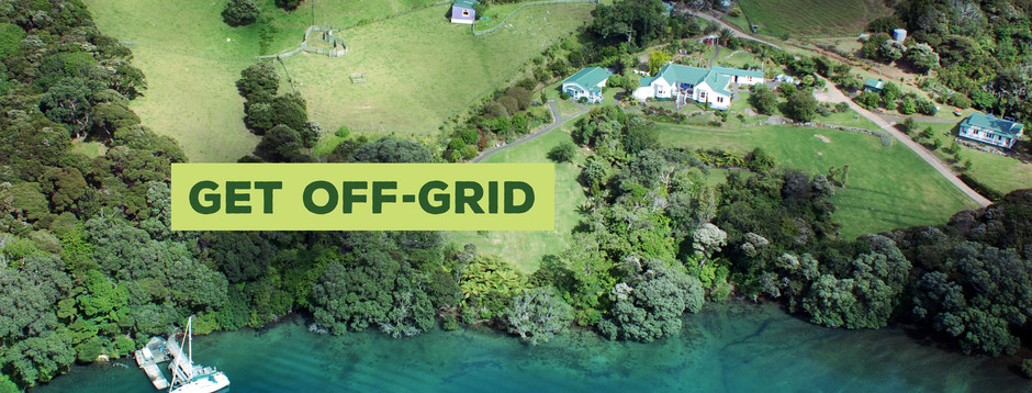 Get Off-Grid & Restore Peace-of-Mind