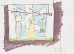 Spring Window Dressing