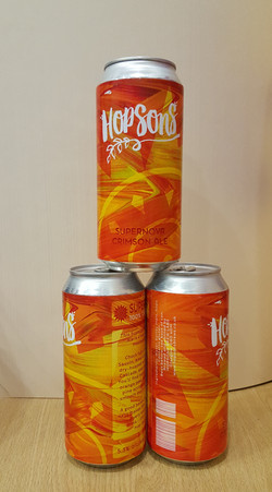 Graphic - Indie Beer Can