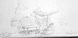 Set Dressing Sketch - 12 Point Kill