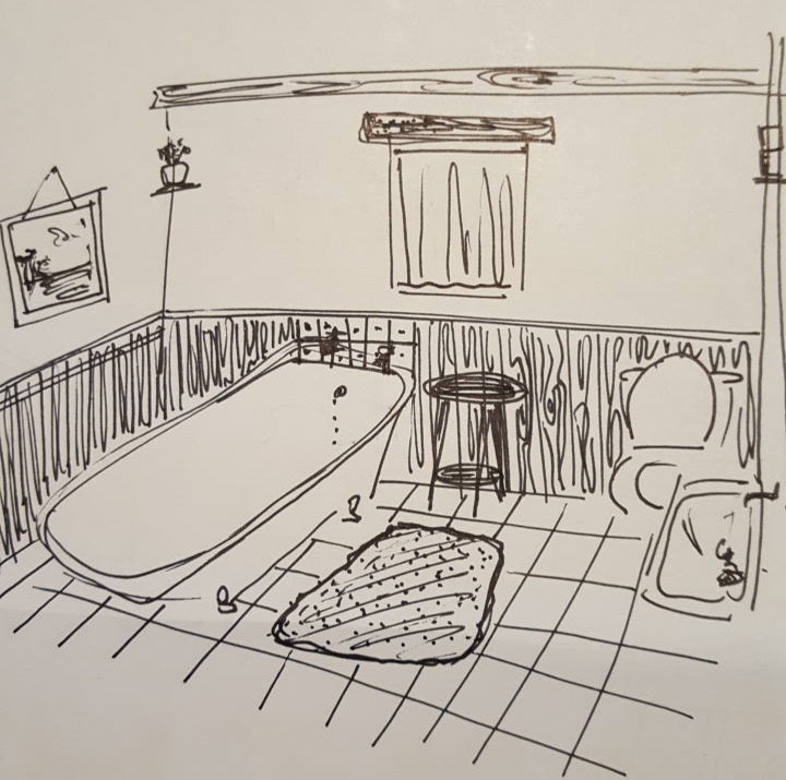 Set Dressing Sketch - Vespers