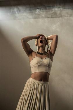 Female Dancer - Pale Breast