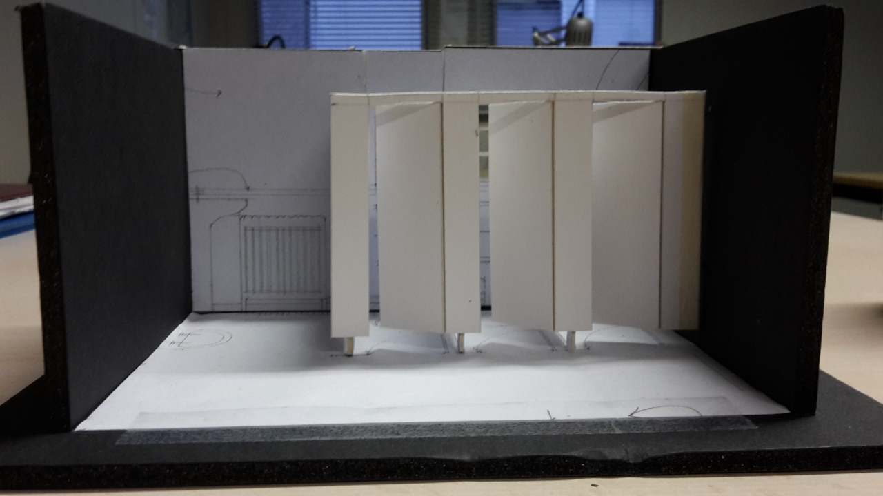 Scale Model - white card