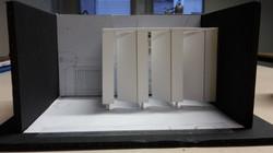 Scale Model - white card