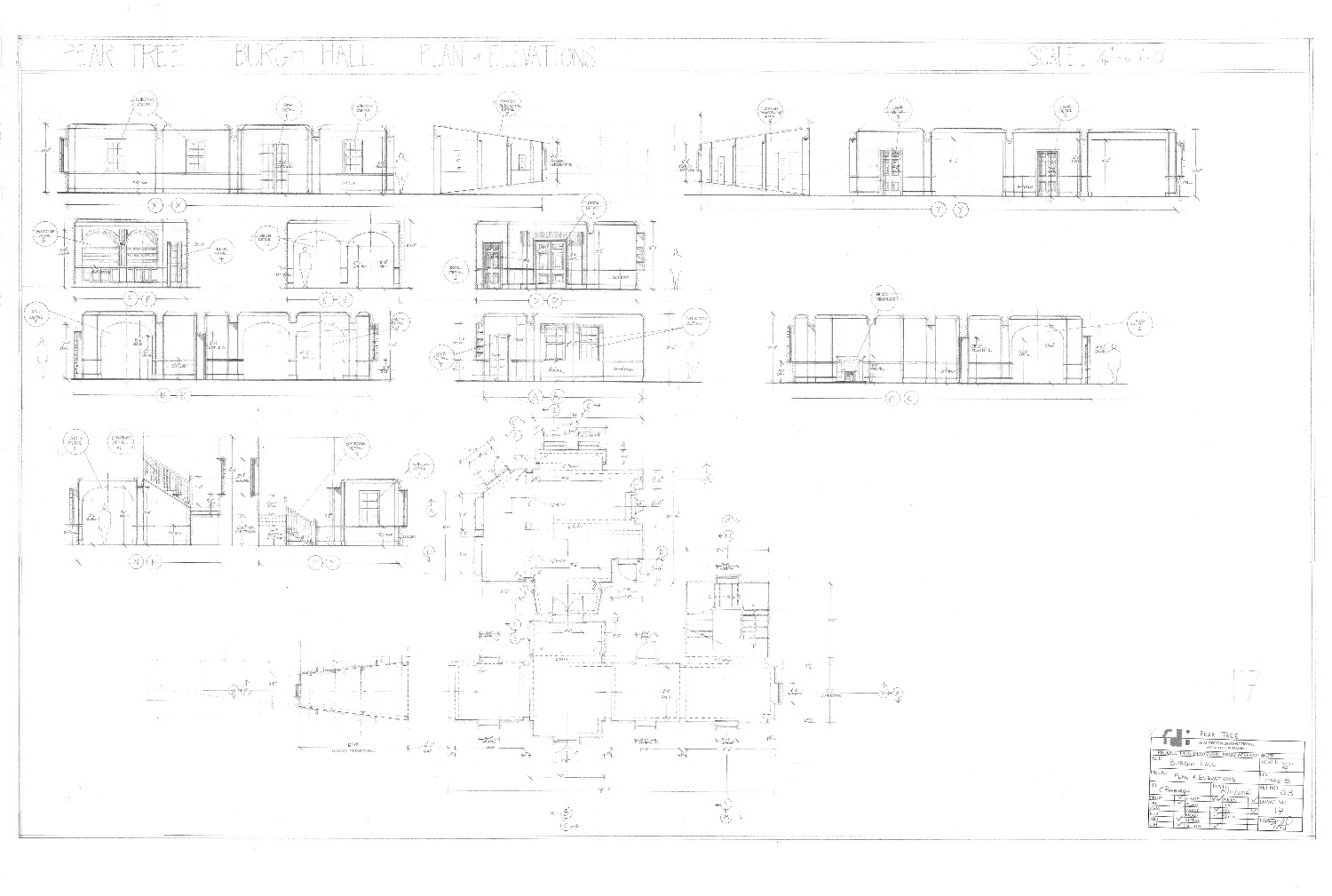 Pear Tree Plan & Elevation