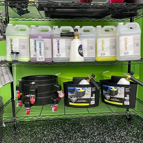 car wrap cleaning supplies