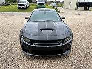 2021 Wide Body Dodge Charger 392 with dual matte black racing stripes