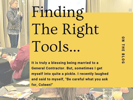 Finding The Right Tools