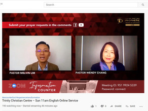 LIVE Pre-Service Prayer online