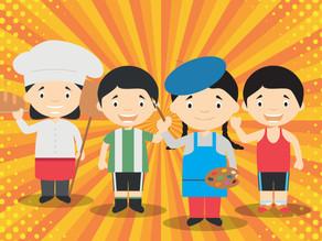 First Virtual Children's Day Event Thrills Kids