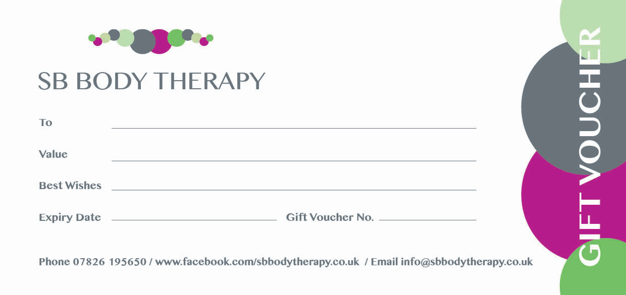 SB Body Therapy Voucher