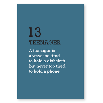 Capable Teenager