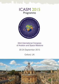ICASM 2015 Programme
