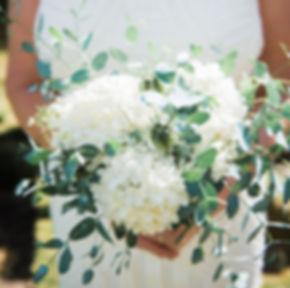 Green & White bridal