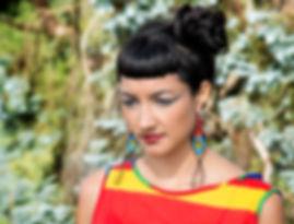 Beadwork Earrings, Silver Earrings, Ethical, Handmade, Artcraft, Chi&Ko, Jewellery