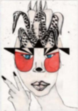 Penca savila, One lucid Nation Illustration by Maria Jose Gallo