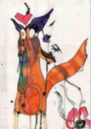 Fox Illustration By Maria Jose Gallo