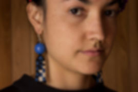 Beadwork Earrings, Beaded Jewellery, Ethical, Handmade, Artcraft, Chi&Ko