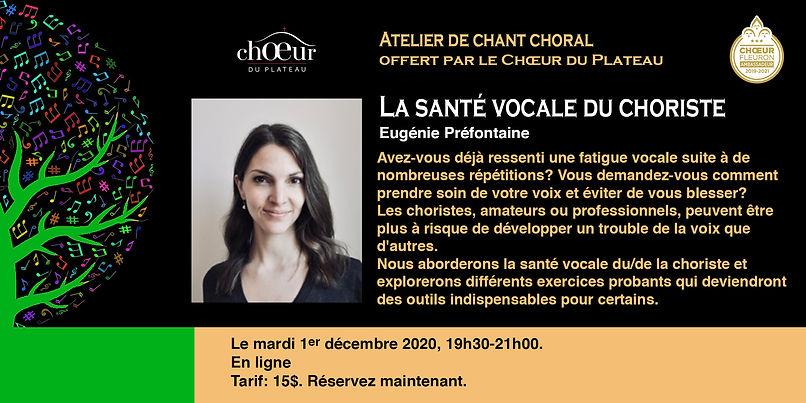 Bandeau Eugénie Préfontaine Atelier no 4