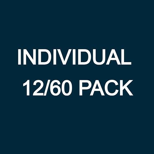 INDIVIDUAL 12/60 PACK