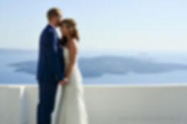 Santorini wedding, wedding ceremony Santorini, English celebrant Santorini