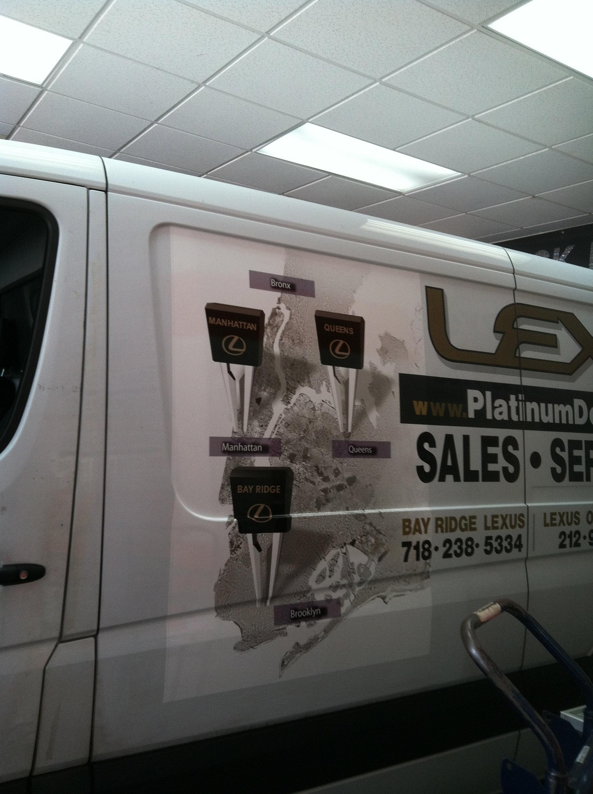 Custom car interior queens ny - Wrapguru Vehicle Wraps Graphics And Lettering Lexus Of Queens Ny